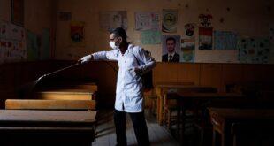 7 إصابات جديدة بكورونا في مدارس طرطوس