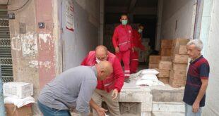 """الهلال الأحمر السوري يبدأ حملة إغاثية لمهجري """"عفرين"""" شرقي سوريا"""