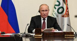 الكرملين يكشف سبب عدم تطعيم بوتين ضد فيروس كورونا