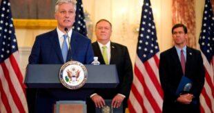 مستشار الأمن القومي الأمريكي: نريد حلا سريعا لأزمة الخليج