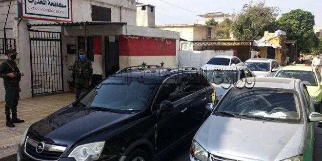 فرع مكافحة المخدرات في حلب يلقي القبض على ستة أشخاص
