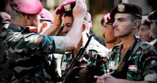 سوريا: إنهاء الاحتفاظ والاستدعاء للضابط الاحتياطيين وصف الضباط والأفراد الاحتياطيين