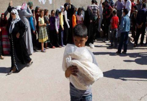 شرطة محافظة دمشق توقف 55 شخصاً يتاجرون بالخبز