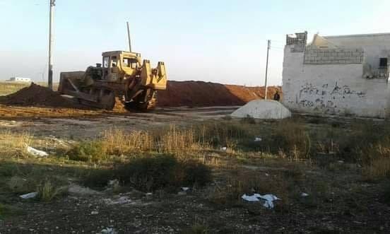 حلب تزيل سواتر الإرهابيين في ريفها المحرر لتسهيل عمل الفلاحين