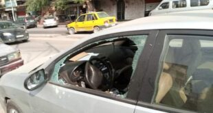 تكسير زجاج نحو 15 سيارة في حي دمر بدمشق ليلاً