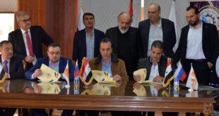 اتفاق على بدء تصدير حمضيات وخضار إلى الجنوب الروسي وإقامة منشأة للفرز والتوضيب بطرطوس