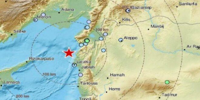 هزات أرضية متتالية في سوريا.. هل نشط فالق دمشق؟ وما احتمال حدوث تسونامي على السواحل؟