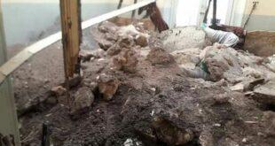 الأمطار هي سبب انهيار سقف غرفة فندق دمشق بحلب ووفاة أحد نزلائه