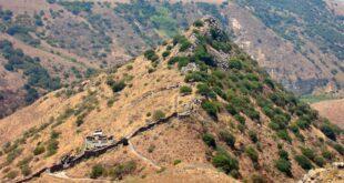 اكتشاف قلعة في مرتفعات الجولان المحتل تعود إلى 3 آلاف سنة