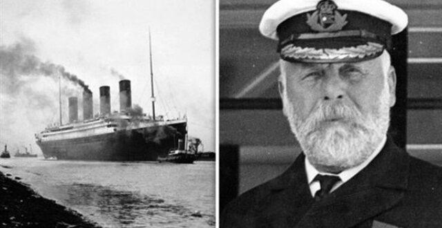 ماذا كان قبطان تيتانيك يفعل بينما كانت سفينته تغرق؟