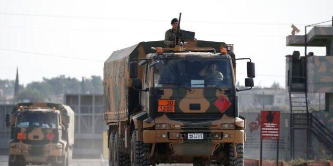 شاهد تفكيك وانسحاب اكبر قاعدة عسكرية تركية في شمال سوريا