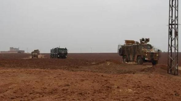 دورية روسية تركية تدخل لأول مرة مسافة ١٠ كم بريف الحسكة