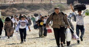 أهالي مورك يعودون إلى منازلهم بعد انسحاب القوات التركية منها