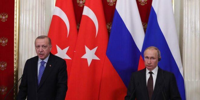 أردوغان لبوتين: تركيا وروسيا قد تستخدمان آلية قره باغ للتسوية في سوريا