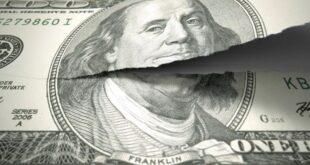 بنك أمريكي شهير يتوقع انهيار الدولار جزئيا خلال العام القادم