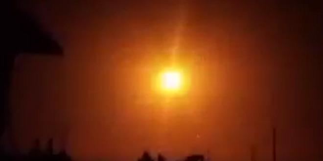 شاهد.. لحظة تصدي الدفاعات السورية لهجوم إسرائيلي على ريف دمشق