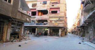 """سكان مخيم اليرموك الفلسطيني بدمشق يبدؤون """"العودة"""" إليه"""