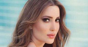 نسرين طافش بفستان صيفي مورّد .. بالصورة