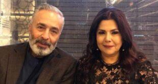 """صباح الجزائري إحتفالاً بعيد ميلاد زوجها:""""حبي إلك بيوصل لأبعد سما"""""""