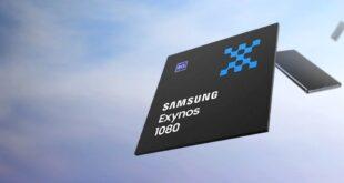 سامسونج تكشف عن أول معالجاتها بتقنية 5 نانومتر Exynos 1080