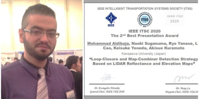 محمد الديباجة سوري ينال تقديراً عالمياً بأنظمة قيادة السيارات الذكية