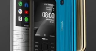 هاتف كلاسيكي جديد من نوكيا يدعم الجيل الرابع 8000 4G