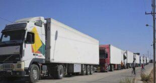السماح للشاحنات السورية المحملة بالبضائع بدخول الأراضي السعودية