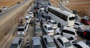 اعتصامات في الرمثا الأردنية للمطالبة بفتح الحدود مع سورية