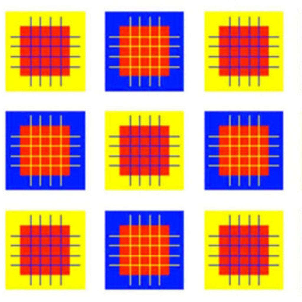 كم من الألوان تشاهدون في الصورة ؟ اختبروا سرعة دماغكم