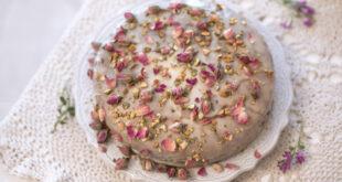"""طريقة تحضير كعكة الحب الفارسية """"کیك عاشقانه إیراني"""""""