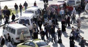 """""""مراقبون ومراقبات"""" لخطوط السرافيس في دمشق"""