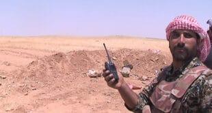 """اشتباكات متواصلة بين الجيش السوري و """"دا عش"""" في البادية السورية"""