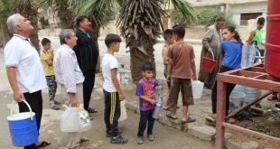 """مسلحو الميليشيات """"التركمانية"""" يعاودون قطع مياه الشرب عن مليون سوري بالحسكة"""