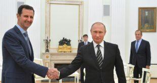 الأسد يهنئ بوتين بالعام الجديد