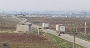 انسحاب القوات التركية من آخر نقطة يحاصرها الجيش السوري في ريف حلب.. فيديو