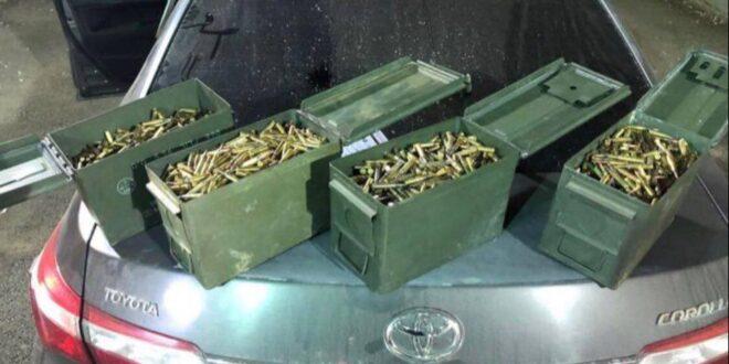 ضبط شحنة أسلحة على طريق طرطوس