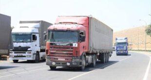 أكثر من خمسة آلاف شاحنة سورية الى العراق خلال عام