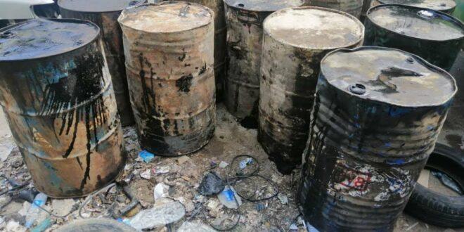 تموين ريف دمشق تضبط ١٦.٢ طن فيول في السوق السوداء