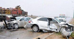 5 وفيات نتيجة حوادث السير بـ حماة الشهر الماضي
