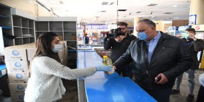التجارة الداخلية: مستمرون في تأمين المواد الغذائية بأسعار منافسة