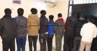 توقيف عصابة في بلدة سعسع بريف دمشق تمتهن سرقة المنازل والمحال التجارية والمزارع