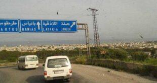 شهداء وإصابات بين عسكريين سوريين في حادث سير بريف اللاذقية