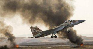 الجيش الإسرائيلي يكشف عدد غاراته على سوريا عام 2020