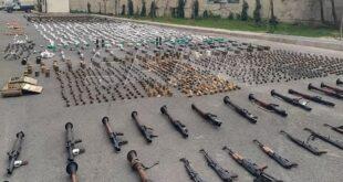 العثور على أسلحة اسرائيلية جنوب سوريا.. شاهد!