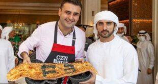الشيف بوراك يفاجئ ولي عهد دبي بطريقة مميزة