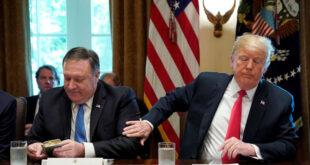 ترامب لبومبيو: لا حرب مع إيران