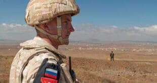 الشرطة العسكرية الروسية تدعم الدوريات السورية في الجولان