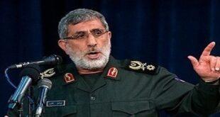 قائد فيلق القدس إسماعيل قاآني يزور ضريح السيدة زينب في دمشق