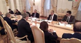 المقداد خلال لقائه لافروف: العلاقات بين موسكو ودمشق استراتيجية ونتطلع لتعزيزها