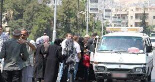 """""""بالع الموس عالحدين"""" حكاية سائق ميكرو مهاجرين صناعة.. برسم فرع مرور دمشق"""